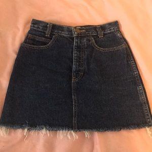 Vintage Calvin Klein Jean Skirt